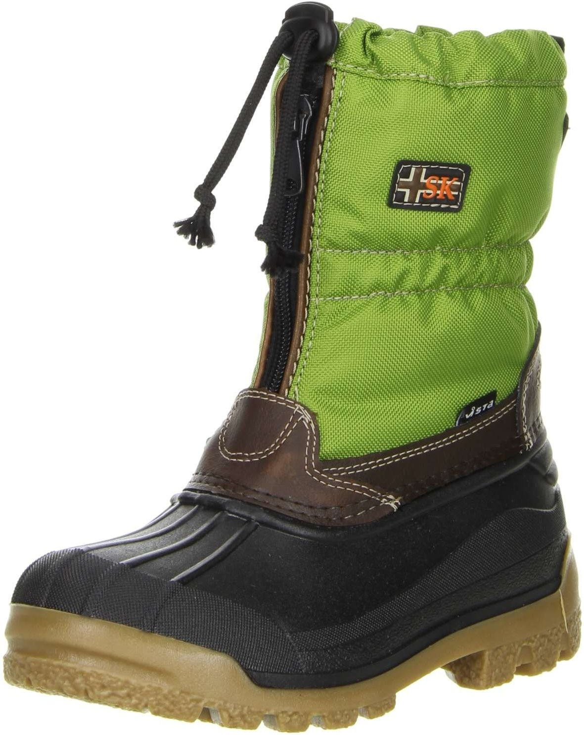 vista canada polar kinder winterstiefel snowboots thermo tex innenschuhen gr n kinderschuhe. Black Bedroom Furniture Sets. Home Design Ideas