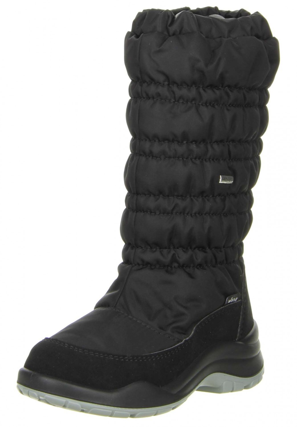 vista damen kinder winterstiefel snowboots schwarz kinderschuhe m dchen winterstiefel. Black Bedroom Furniture Sets. Home Design Ideas