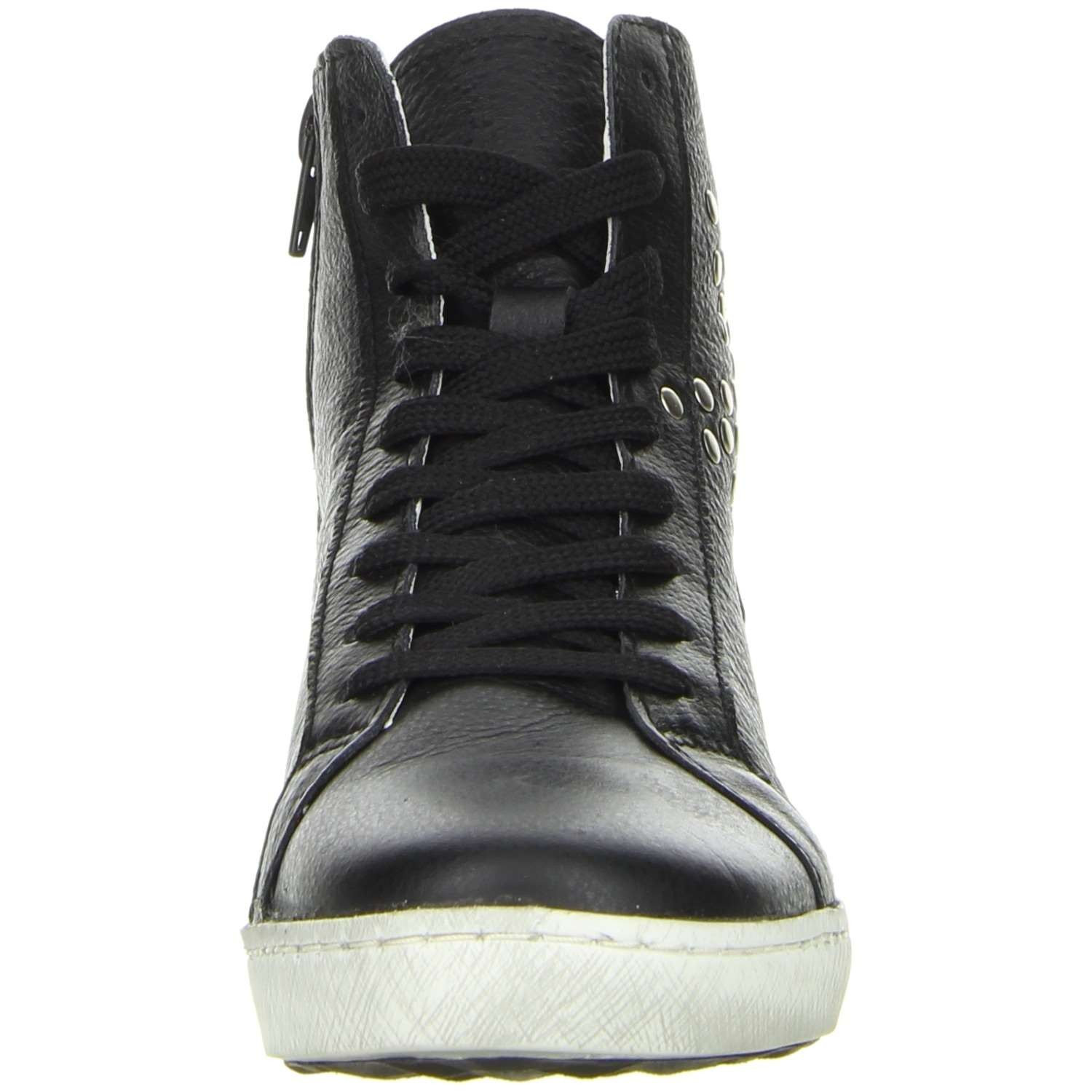 vista damen high top sneaker schwarz damenschuhe sneaker. Black Bedroom Furniture Sets. Home Design Ideas