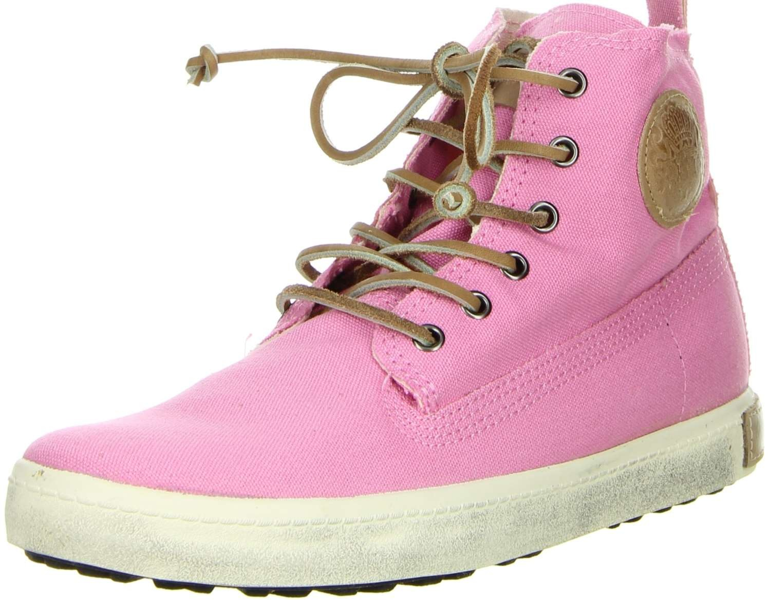 blackstone damen high top sneaker pink damenschuhe. Black Bedroom Furniture Sets. Home Design Ideas
